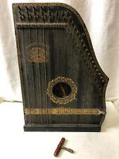 Antike Menzenhauer Zither No° 2 1/2 - um 1900 Amerikanische Guitarzither