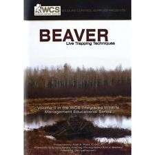 DVD BEAVER LIVE TRAPPING TECHNIQUES BY ALAN HUOT OF WCS