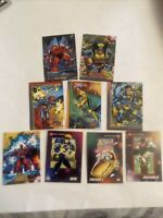 Lot Of X-men Trading Cards. 1992-93. Wolverine, Cyclops, Storm, Professor X More
