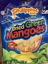 [4 Bag x 3.5oz] Philippine Naturally Dried Green Mango Glutten Free HARD TO FIND