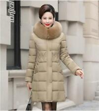 Winter Coat Women's Long Jacket Thick Down Cotton Parka Warm Mother Dress Jacket