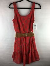 New With Tags City Triangles Women's Size Medium Dress Sleeveless With Belt