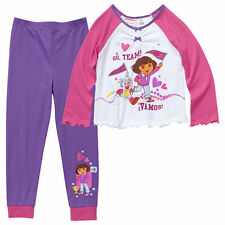 Dora the Explorer Girls' Flannel Sleepwear