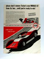 "1966 TESTOR Mirage GT Tach Track Tested Original Print Ad 8.5 x 11"""