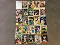 HALL OF FAME Baseball Card Lot 1980-2020 ROBERTO CLEMENTE MIGUEL CABRERA +