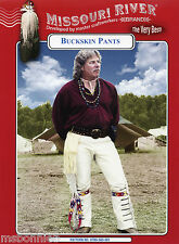 Missouri River Mountain Man Rendezvous Buckskin Pants Sewing Pattern Waist 30-42