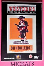 BANDOLERO - WESTERNS THE CLASSIC COLLECTION WTCCN43 DVD PAL UK OOP DeAgostini