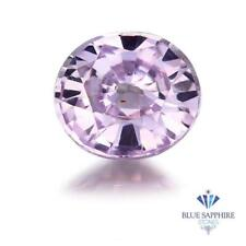 1.17 ct. Oval Natural Pink Sapphire ~ 7 x 6 mm