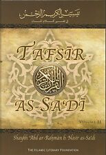 Tafsir as-Sadi Volume 2 in English By Shaykh Abd ar-Rahman bin Nasir as Sa'di