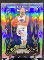 Stephen Curry 2019-20 Panini Select Select Company Silver Good State Warriors