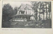 Adirondack RPPC Cohasset Hotel Fourth Lake Fulton Chain 1909