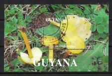Champignons Guyane (32) bloc oblitéré