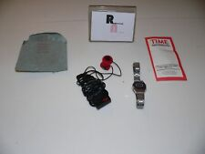 Kinetic Time Magazine Mini Fm Radio Receiver Pocket Promotional Offer + Watch