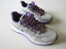 Girl's NIKE 'Lunarglide 4' Sz 7 US Runners Grey Violet ExCon | 3+ Extra 10% Off