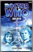 Doctor Who: Grave Matter by Justin Richards (Paperback, 2000) 1st. Edition