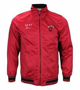 Zipway NBA Youth Miami Heat Zip Up Anderson Track Jacket, Red