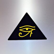 Eye of Horus Patch — Iron On Badge Embroidered Motif — Egypt Egyptian Mythology