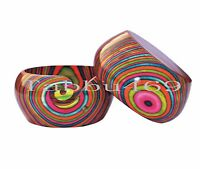 Wooden yarn bowl Rainbow wood yarn bowl 6x3 free shipping by DHL express