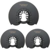 3pcs 88mm Half Circular Flush Saw Blades Ocsillating Multitool Accessories Oscil