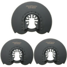3pcs 88mm Half Circular Flush Saw Blades Ocsillating Multitool Accessories Oscil