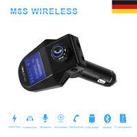 KFZ Freisprechanlage Auto Bluetooth FM Transmitter MP3 Musik Player Car USB SD L