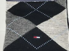 Men's TOMMY HILFIGER ARGYLE 34% COTTON Dress Socks - 4 Pack- $36 MSRP