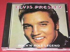 Elvis Presley-Rock 'n Roll Legend (CD 66015) NO CODE-BARRES-CD