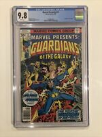 Marvel Presents #11 CGC 9.8 Guardians Of The Galaxy 1977