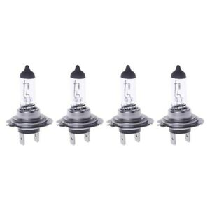 4PC H7 55w 12vHalogen Bulb 4000k H7 px26d 55w Fog Lamp Parking Clear Car Styling