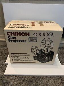CHINON  4000GL Cine Projector  BRAND NEW in original box Vintage