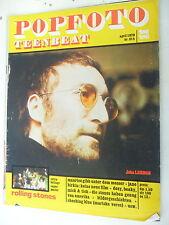 1 x Magazin - Popfoto Teenbeat  - April  - seltenes Fotomagazin  -Z. gut