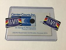 Center Courts Business Cards - Elvis Related Owned - Estate Of Dr. Nichopoulos