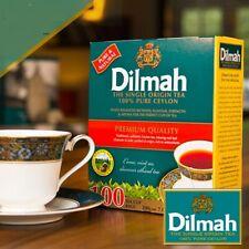 Dilmah The Single Origin Pure  Ceylon Black Tea 100 Individual Wrapped Tea Bags