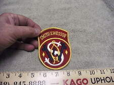 Vintage Smith & Wesson Cloth Full Color Patch, Looks Unused