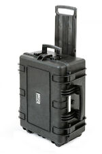 Waterproof Wheeled Rolling Camera Equipment Tool Hard Carry Case size 48x37x20cm