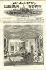 1855 Queen Victoria Salon In The Palace Of St Cloud