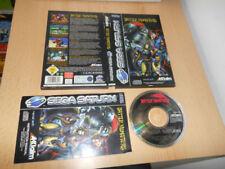 Jeux vidéo manuels inclus français pour Sega Saturn
