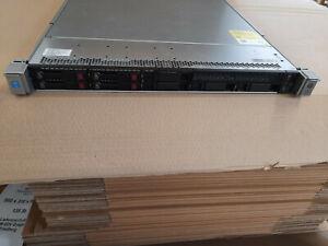 HP ProLiant DL360 G9 E5-2630 v3,  96GB RAM, 4 x 1,2TB SAS HDD 2 x 500 Watt 8 Bay