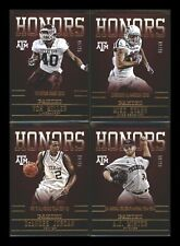 2015 Panini Collegiate Texas A&M Honors SILVER SP /99~ You Pick~ NFL NBA MLB