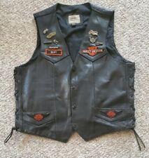Vintage Harley Davidson Motorcycle Patch & Pin Lot Leather Vest Sturgis Chevy