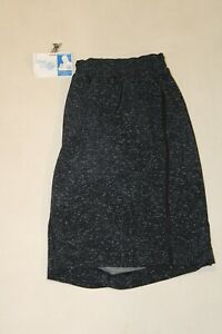 Lululemon Mens Large Navy Blue Athletic Shorts w/ Speckled Pattern L
