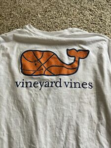 Vineyard Vines boys Girls Basketball Long Sleeve Graphic T-shirt Size Large