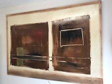 "RARE ORIGINAL Paul karslake ""sans titre"" Grande belle peinture abstraite"
