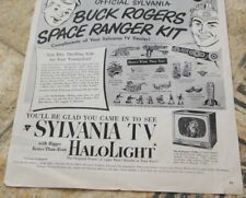 Vintage Page Of Buck Rogers Space Ranger Kit Ad From Life Oct 1952  B/W  USED