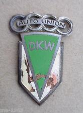 original  alte DKW Hummel Plakette