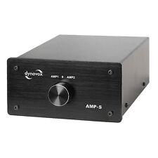 Dynavox Verstärker-/Boxen-Umschalter AMP-S, schwarz