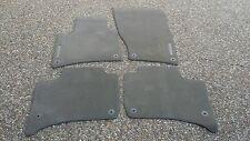 Porsche Cayenne 958 OEM Factory Genuine Espresso Color Floor Carpet Mat Set