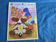 Vintage 1999 Baby  Looney Tunes  My Favorite Puzzle, Road Runner & Wiley Coyote