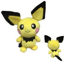 """Pokemon 8"""" Rare Pichu Pikachu Animal Stuffed Soft Plush Doll Toy Xmas Gift New"""