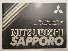MITSUBISHI SAPPORO 1978-1984 BOOK CAR Manual Collectable